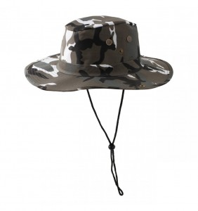 Army Bucket Hat with String