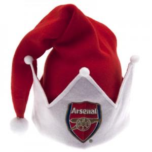 Arsenal Santa Hats