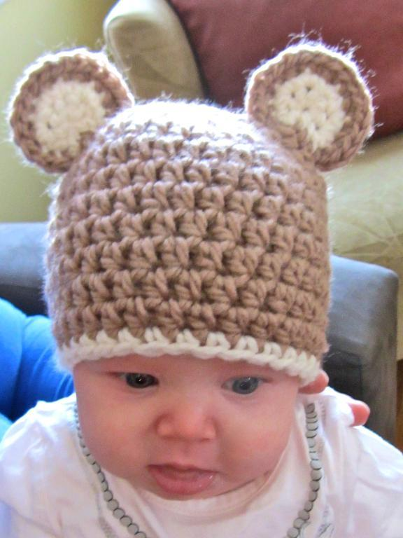 Fashionable style for the baby hat and bib set,Baby beanie with cute bear ear. Kissy Kissy Baby-Girls Infant Beloved Bears Print Hat. by Kissy Kissy. $ $ 15 63 Prime. FREE Shipping on eligible orders. Some sizes/colors are Prime eligible.