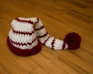 Baby Girl Santa Hat