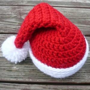 Baby Santa Hat Crochet Pattern