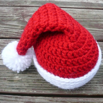 Crochet Pattern For Santa Hat For Baby : Baby Santa Hats ? Tag Hats