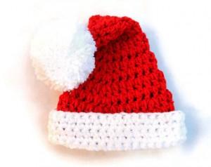 Baby Santa Hat Pattern