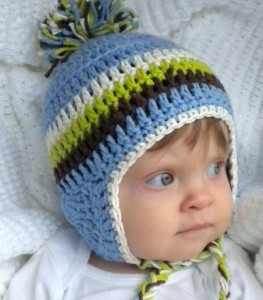 Baby Winter Hats with Ear Flaps