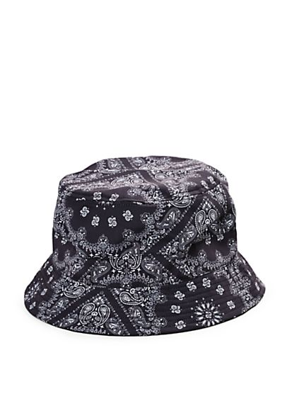 81b3dbeacc9 Bandana Print Bucket Hats