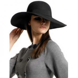 Big Black Floppy Hat