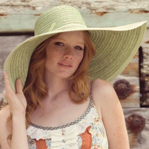 Big Floppy Straw Hat