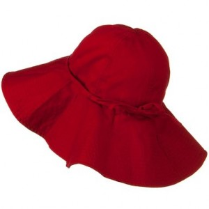 Big Red Floppy Hats