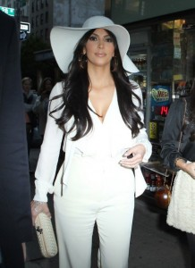 Big White Floppy Hat