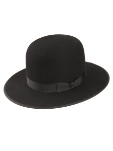 Black Amish Straw Hat