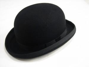 Black Bowler Hat Images