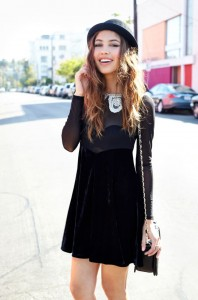 Black Bowler Hat Outfit