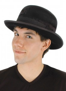 Black Bowler Hat Photos