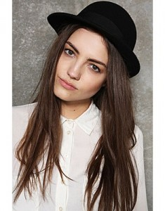 Black Bowler Hat Women