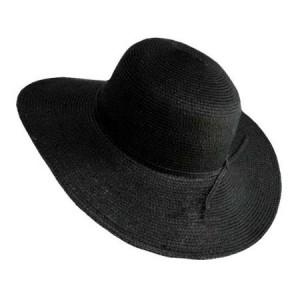 Black Floppy Sun Hat Photos