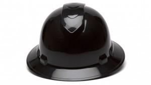 Black Full Brim Hard Hats