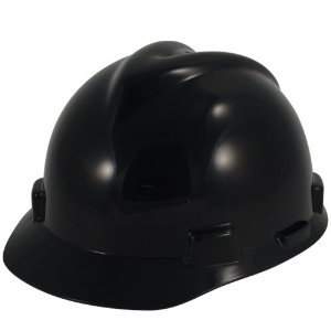 Black Hard Hats