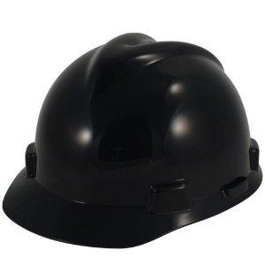 Black Hard Hats