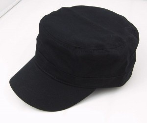 Black Military Style Hat