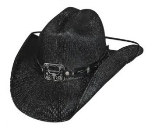 Black Straw Cowboy Hats