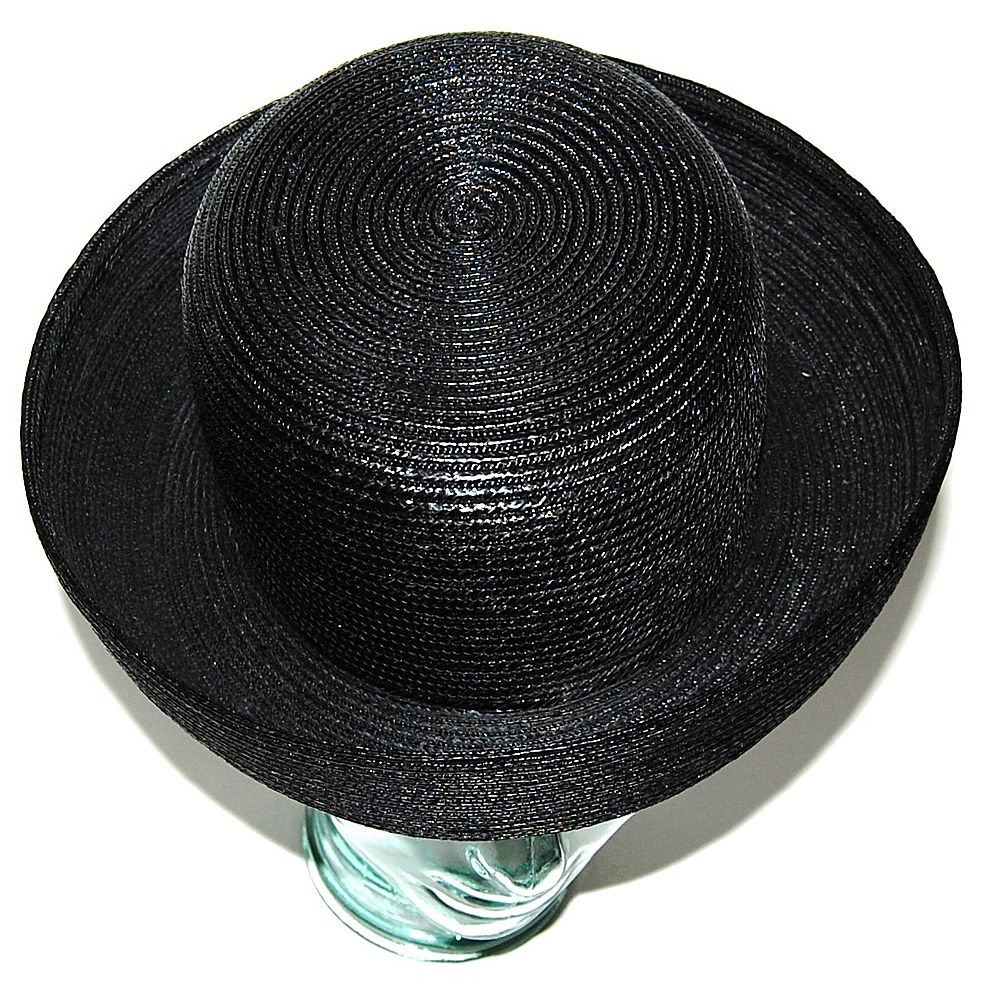 straw, the Toyo Straw Trilby II Fedora Hat by Karen Kane is a classic fedora hat with a feminine twist. Starting with a timeless tear drop crown (aka c-crown), the Trilby II features a stylish grosgrain ribbon hat band knotted at the side.
