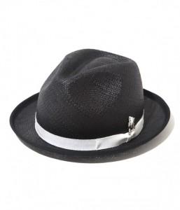 Black Straw Hats