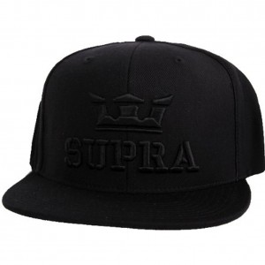 Black Supra Hat