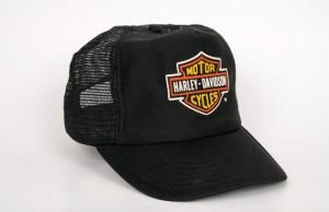 Black Vintage Trucker Hats