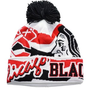 Blackhawks Winter Hat Images