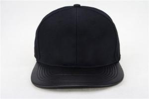 Blank Black Snapback Hats