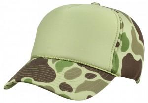 Blank Camo Trucker Hat