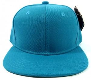 Blank Snapback Hats Blue