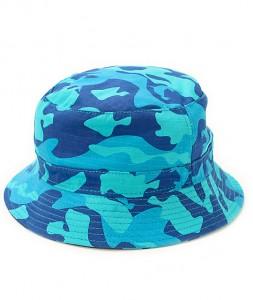 Blue Camo Bucket Hat