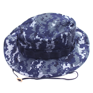 Blue Digital Camo Boonie Hat