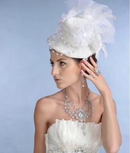 Bridal Top Hat