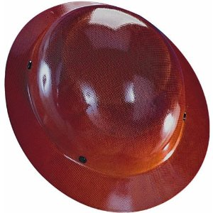 Brown Carbon Fiber Hard Hat