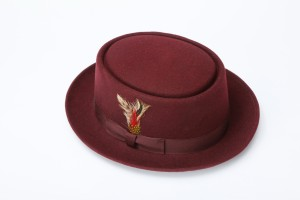 Brown Pork Pie Hat