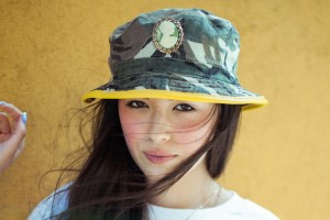 Camo Bucket Hat Outfit