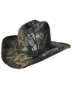Camo Cowboy Hard Hat