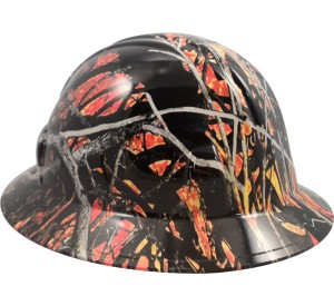Camo Hard Hat Full Brim