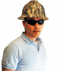 Camo Hard Hats Picture