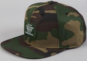 Camo Strapback Hat