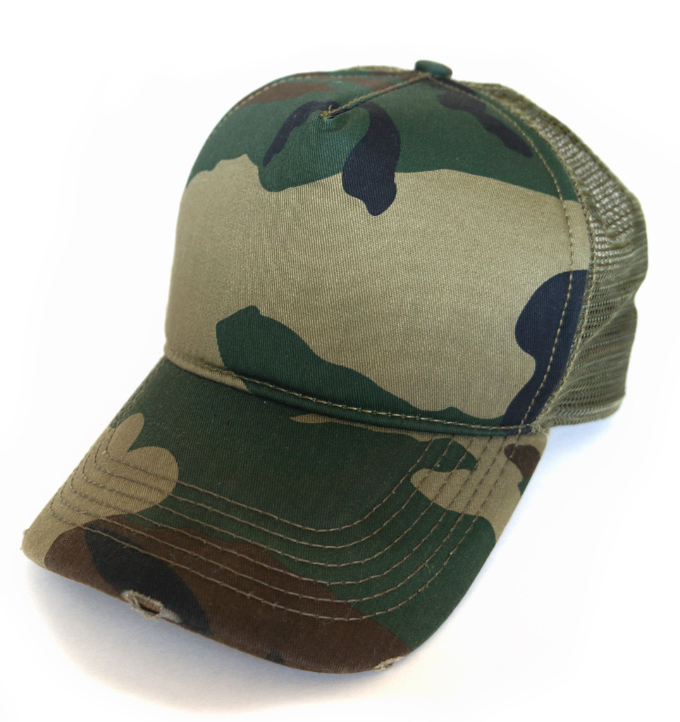 Camo Trucker Hats – Tag Hats 662b705090f