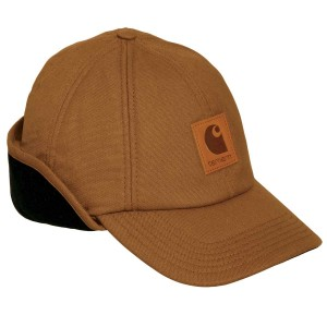 Canvas Hat with Ear Flaps