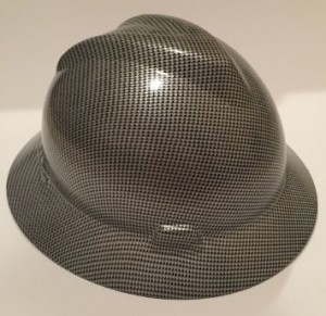 Carbon Fiber Hard Hat Full Brim