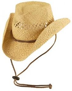 Child Straw Cowboy Hat
