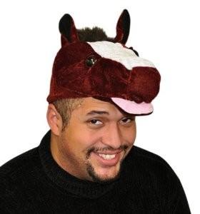 Christmas Horse Hats