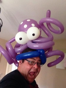 Crazy Balloon Hats