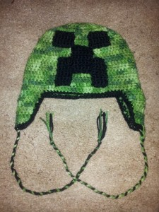 Creeper Hat Crochet