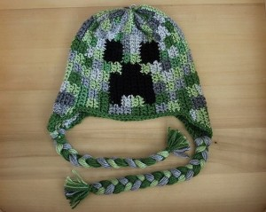 Creeper Hat Crochet Pattern